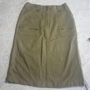 Rudolf Valentina Boutique Green Pencil Skirt Sz.1